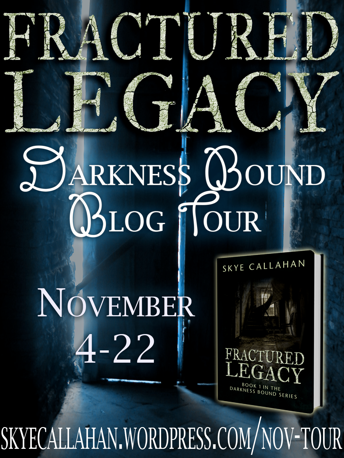 Fractured Legacy Tour Continues Today! (#giveaway)
